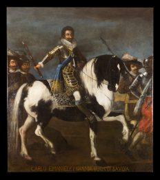 Ritratto di Carlo Emanuele I a cavallo